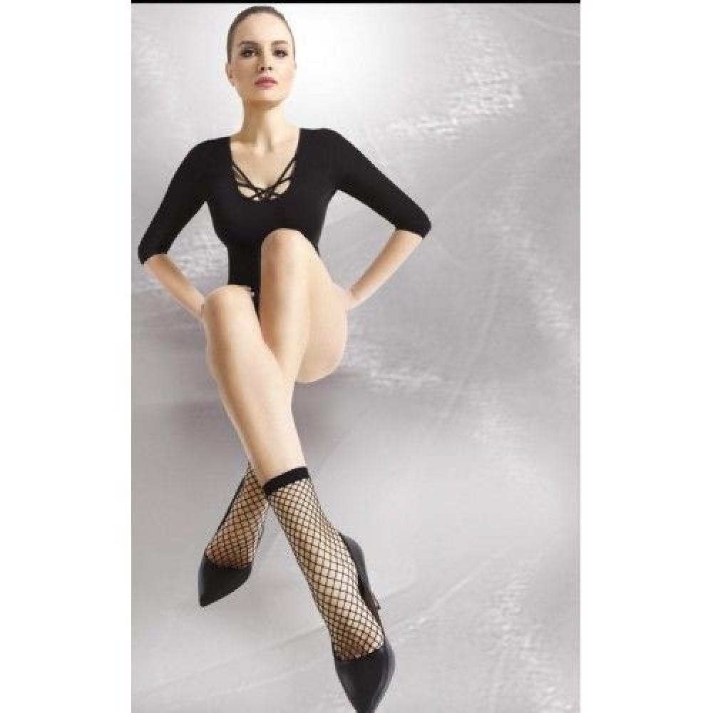 Носки в крупную сетку Gambaletto She Annes (27791), фото 1 — секс шоп Украина, NO TABOO
