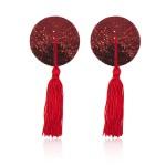 Пестисы круглые красные с кисточками
