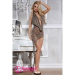 Сукня леопардова еротична O / S