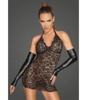 Сексуальное прозрачное кружевное платье S - No Taboo