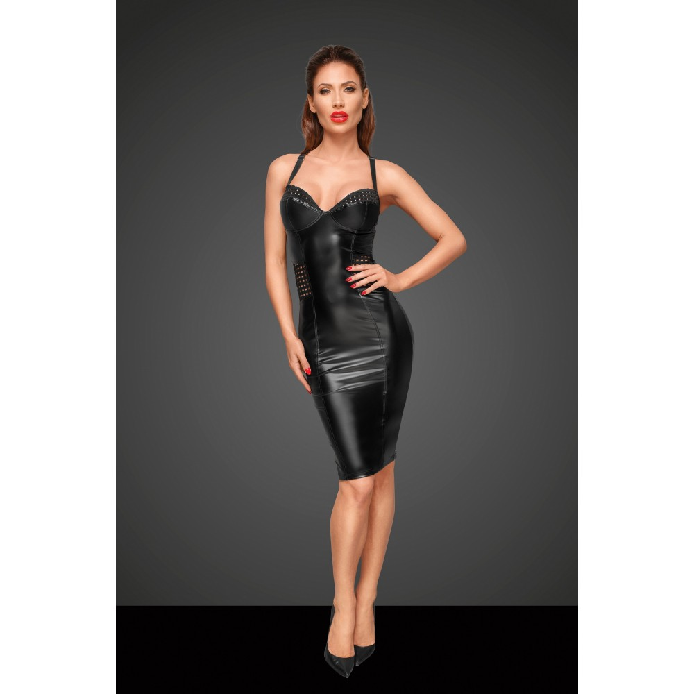 Сексуальное черное облегающее платье Noir Handmade M (31934), фото 2 — секс шоп Украина, NO TABOO