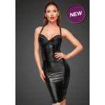 Сексуальное черное облегающее платье Noir Handmade S