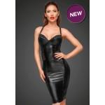 Сексуальное черное облегающее платье Noir Handmade XL