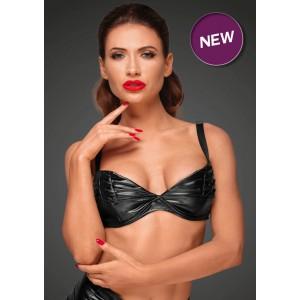 Сексуальный бюстгальтер с декоративными складками Noir Handmade XL (31947), zoom