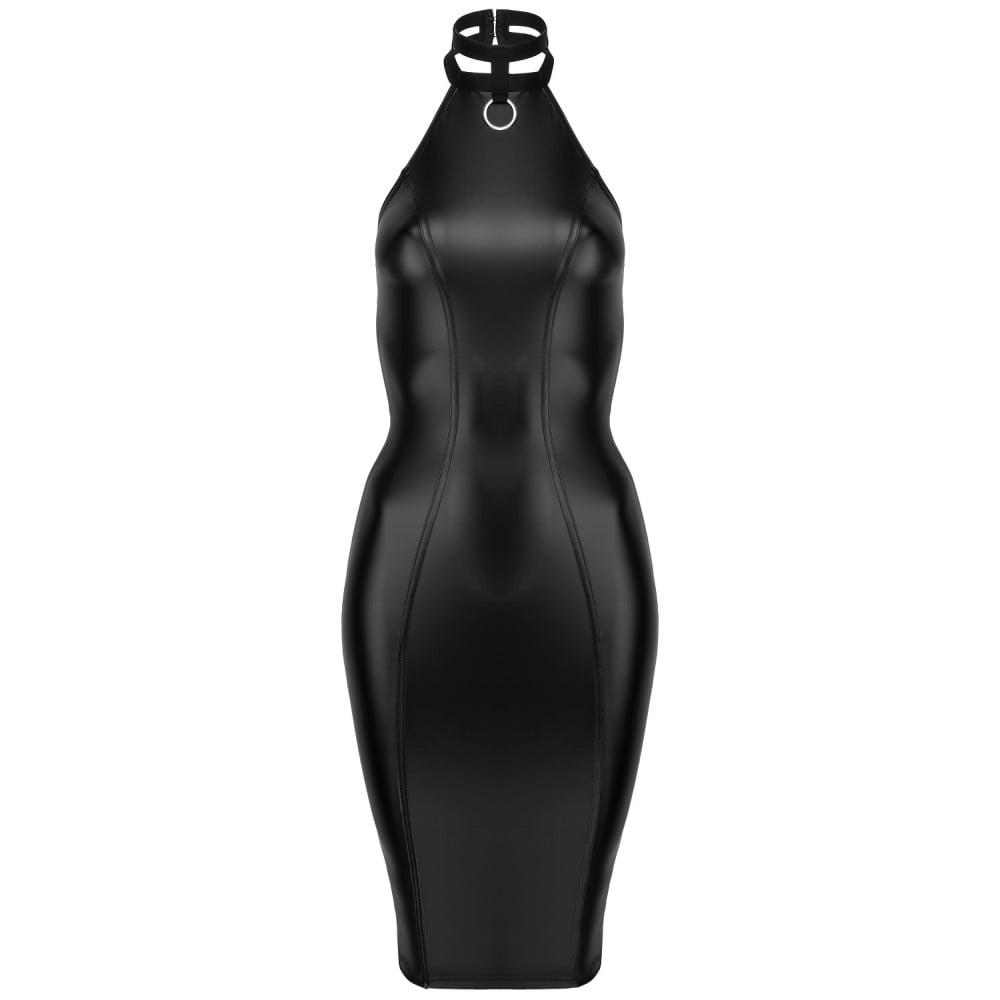 Сексуальное черное платье Госпожи с чокером на шею M - No Taboo