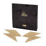 Прикраса для грудей Flash золотиста блискавка, Bijoux Indiscrets