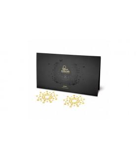 Украшения для груди MIMI со стразами Classic Gold - No Taboo