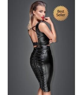 Сексуальная юбка - карандаш со шнуровкой Noir Handmade S - No Taboo