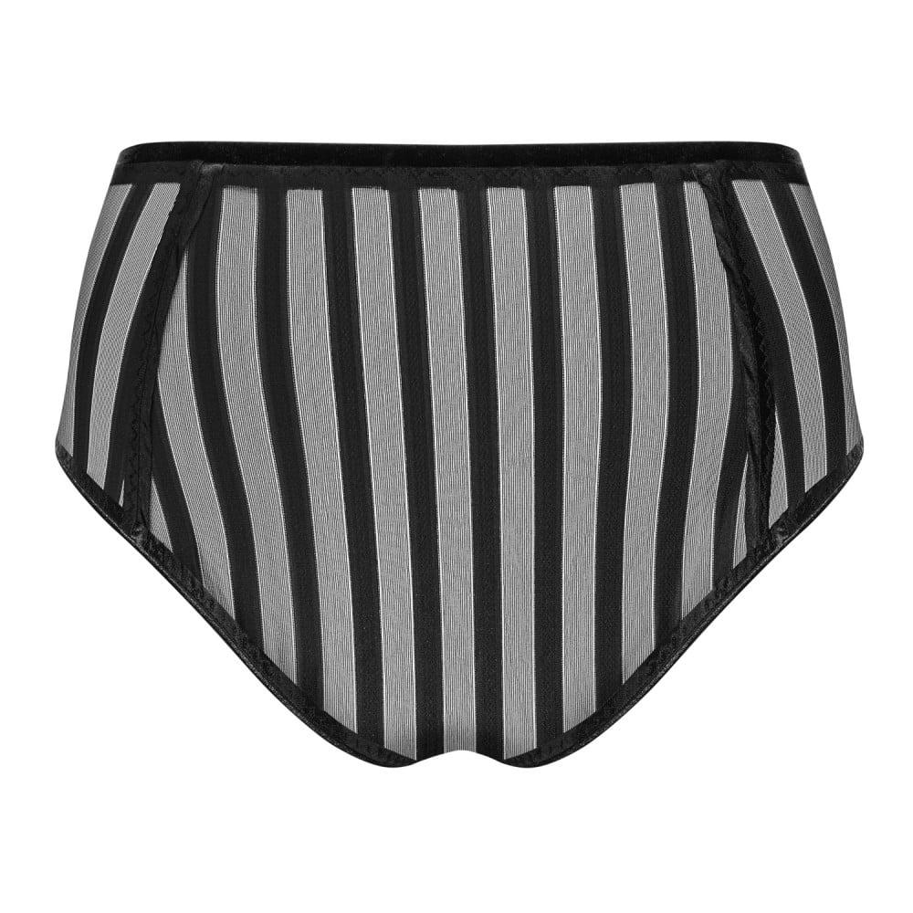 Комплект PetiteNoir эротический, в полоску, размер M (34393), фото 5 — секс шоп Украина, NO TABOO