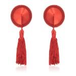 Пэстисы красные круглые с кисточками