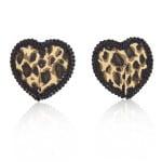 Пэстисы в форме сердца леопард