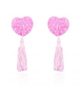 Пестисы сердца в розах с кисточками розовые - No Taboo