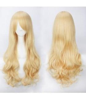Парик без чёлки, длинный кудрявый блонд Kooi - No Taboo