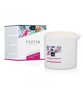 Массажная свеча Exotiq Massage Candle Bamboo, 200 мл - No Taboo
