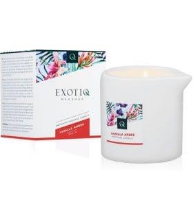 Масажна Свічка Exotiq Massage Candle Vanilla 200 мл - No Taboo