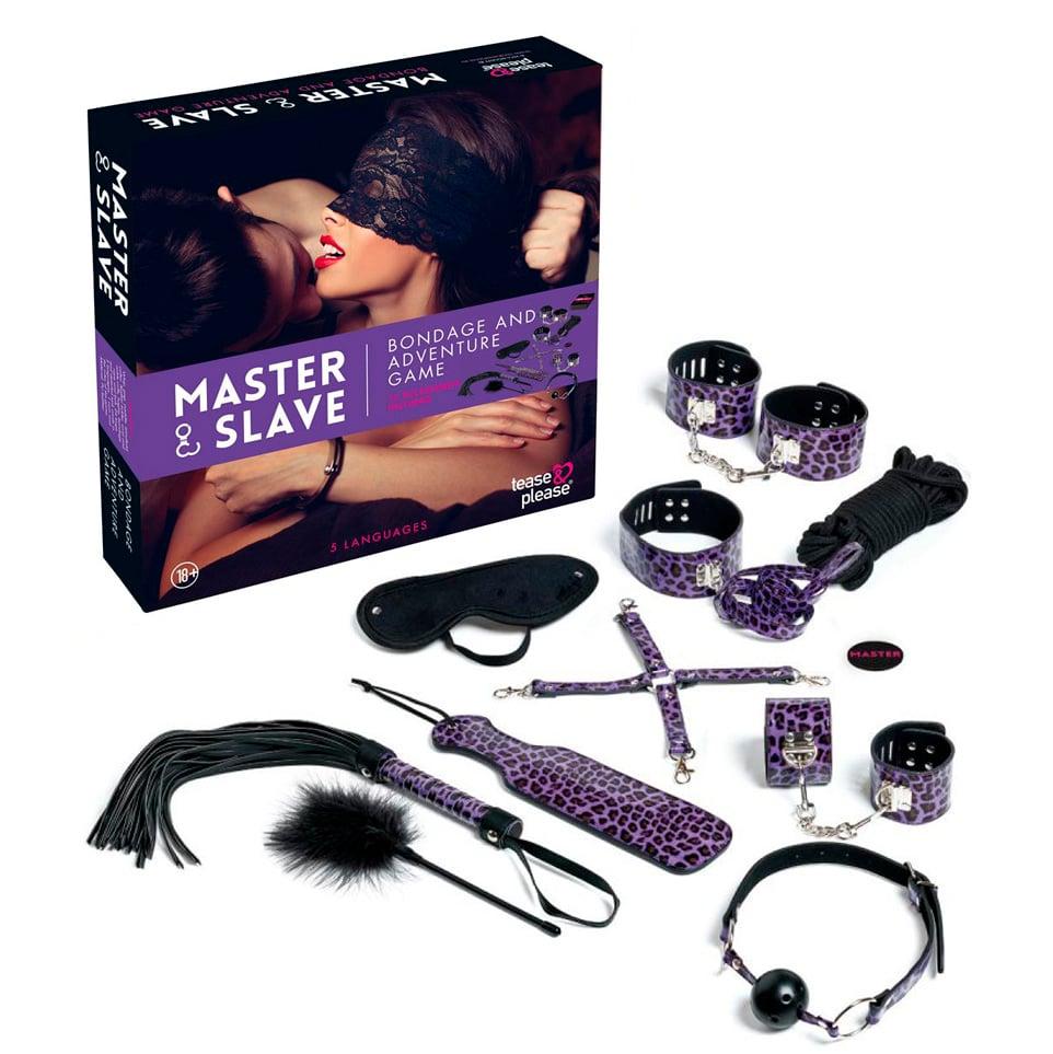 Фото 3 - секс игра с БДСМ девайсами в комплекте
