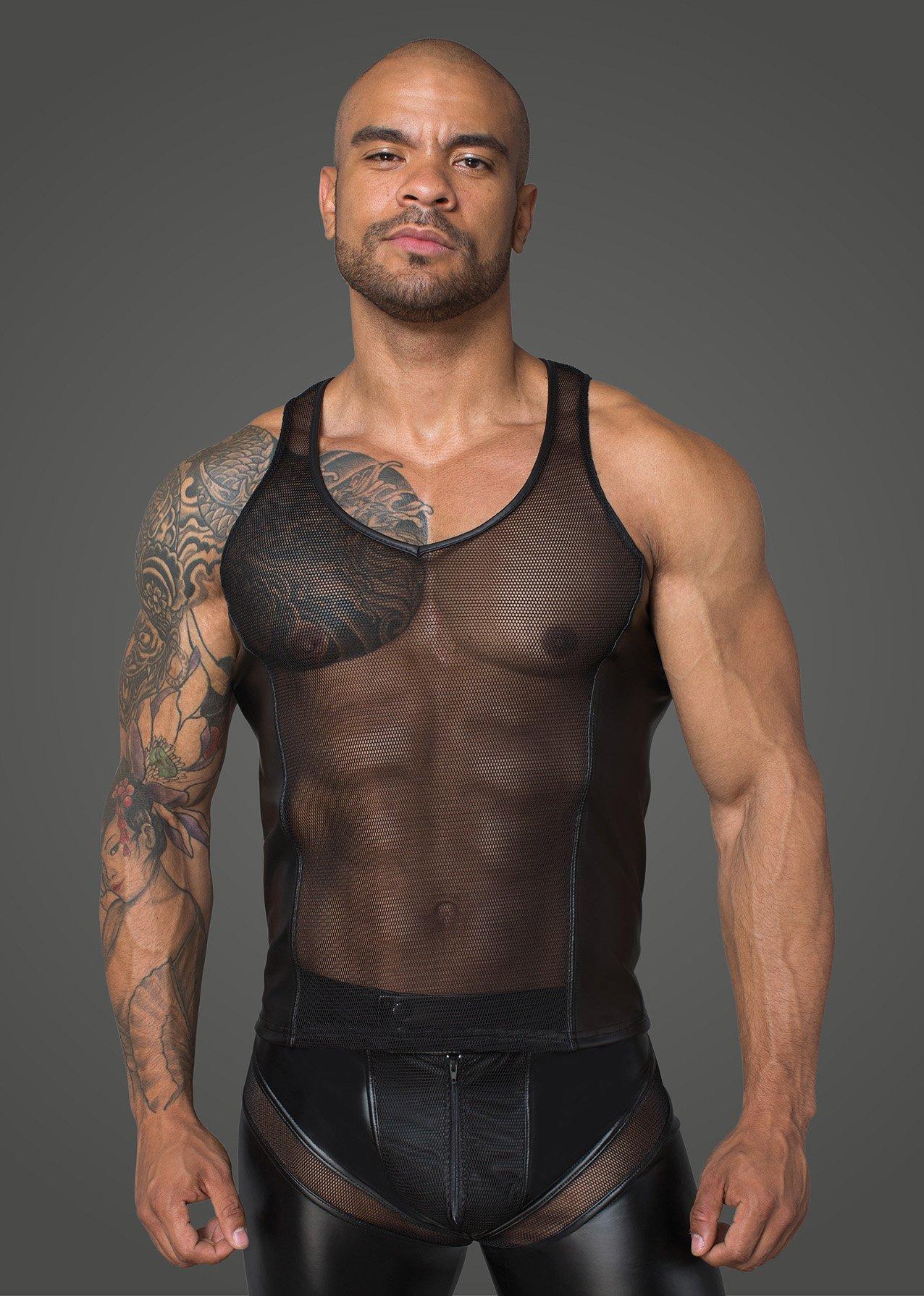 Фото 1 - мужчина в мужской секс одежде Noir Handmade
