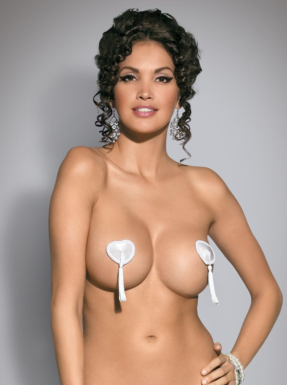 Фото 2 - Девушка в сексуальных белых пестисах